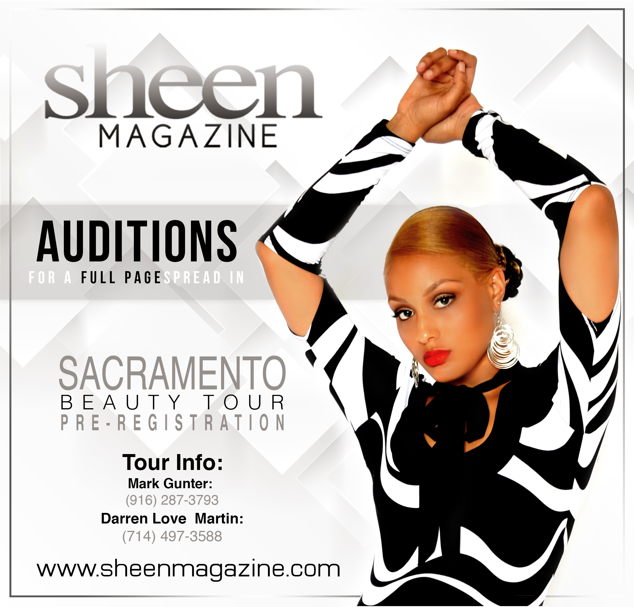 SheenBeauty Sacramento 2014 Flyer